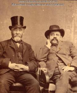 George B. Page and Almon H. Fogg, Houlton, c. 1895