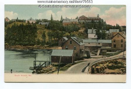 Summit House Hotel, South Bristol Village, ca. 1910. MMN #79563