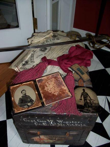Mementos of Lt. George W. Worster