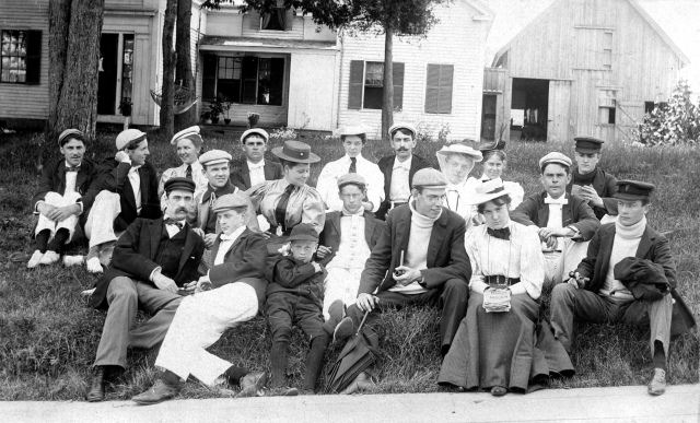 Group of Friends at Squirrel Island, 1895 MMN #13778