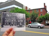 Wadsworth-Longfellow House; ca. 1920 & 2014