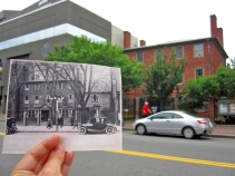 Wadsworth-Longfellow House; ca. 1920 & 2014