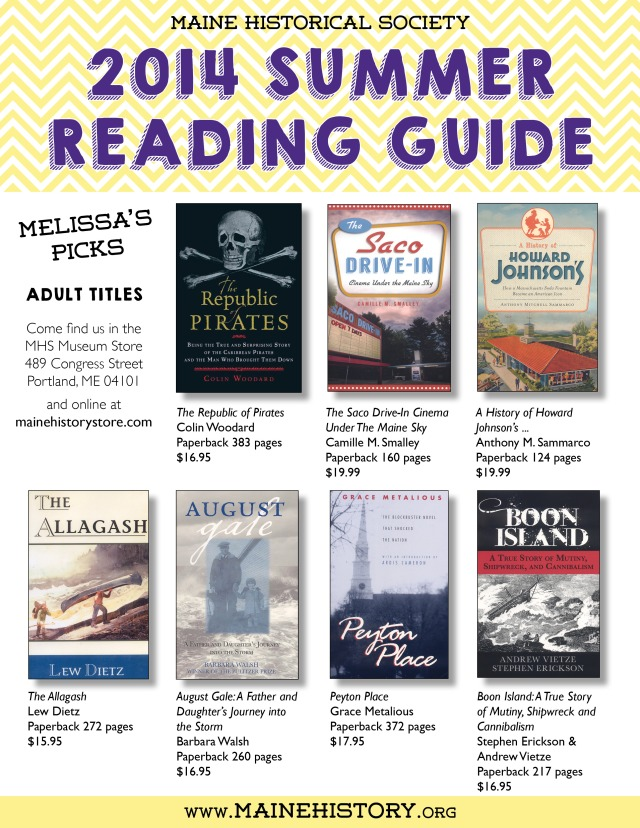 MHS 2014 Summer Reading Guide