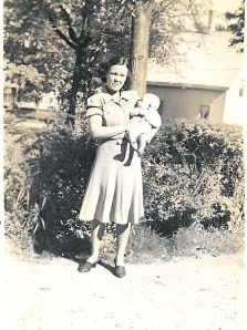 Coll. 2767 Doris with son Kendall