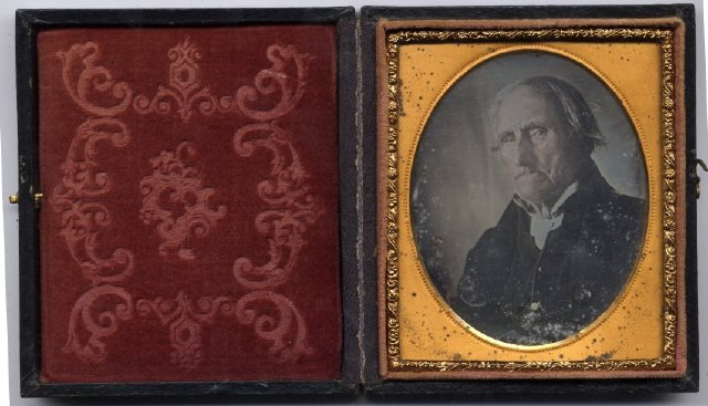 a Daguerreotype of Revolutionary War veteran Conrad Heyer of Waldoboro (viewed 185 times)