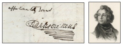 Affectionately Yours, Charles Dickens signature