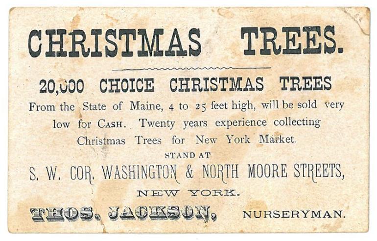 Christmas trees - Coll. S-1553