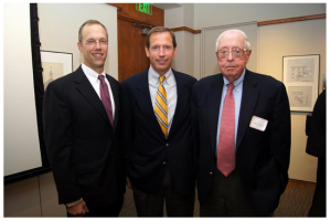Stephen Bromage, Vincent Veroneau, & Mert Henry (2013 recipient)