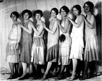 Miss Maine contestants, 1926