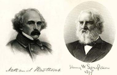 Hawthorne-Longfellow(portrait)