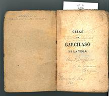 W-L 286: Obras de Garcilaso de la Vega title page