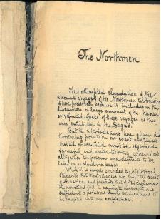 Henry Otis Thayer's The Northmen copy