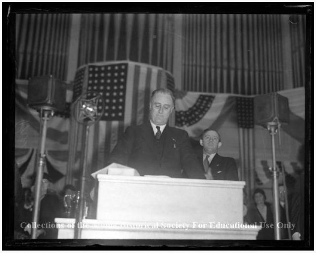 Roosevelt speech